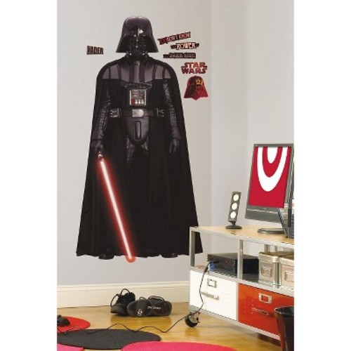 Star Wars Darth Vader RoomMates Vadar Peel & Stick Giant Wall Decal