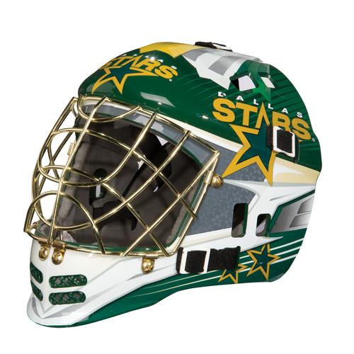 Franklin Sports GFM 1500 NHL Dallas Stars Goalie Face Mask
