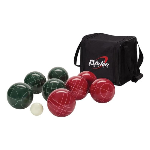 Baden Bocce Ball Set with Carry Case and Measuring Tape - Various Sizes [107mm]