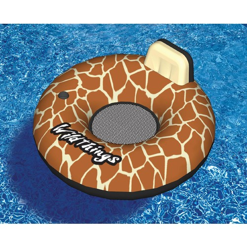 Swimline Wildthings 40-in Giraffe Inflatable Pool Float
