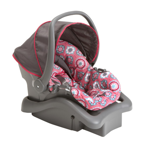 Cosco Light N Comfy DX Infant Car Seat-Posey Pop