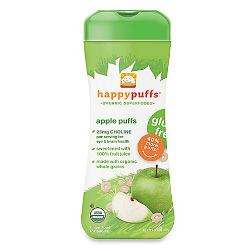 Happy Baby Happy PuffsOrganic 2.1 oz. Puffs in Apple