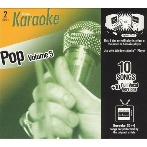Keynote Karaoke: Pop, Vol. 5 [CD]