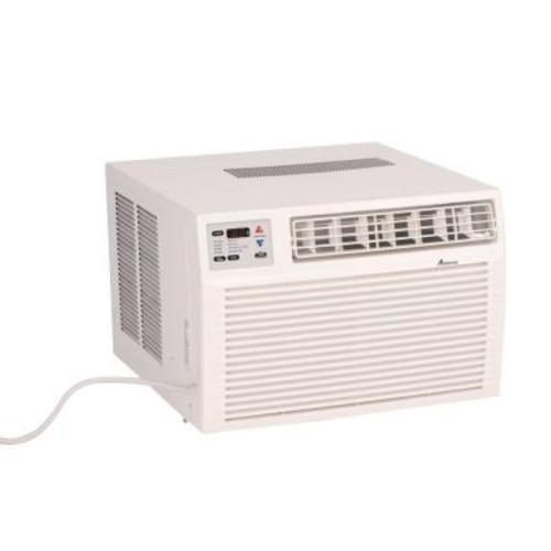 Amana 11,600 BTU R-410A Window Air Conditioner with 3.5 kW Electric Heat and Remote
