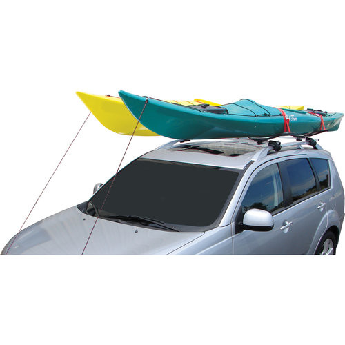 Malone SeaWing Saddle Style Universal Car Rack Kayak Carrier with Bow and Stern Lines : Bike Car Rack Accessories : Sports & Outdoors