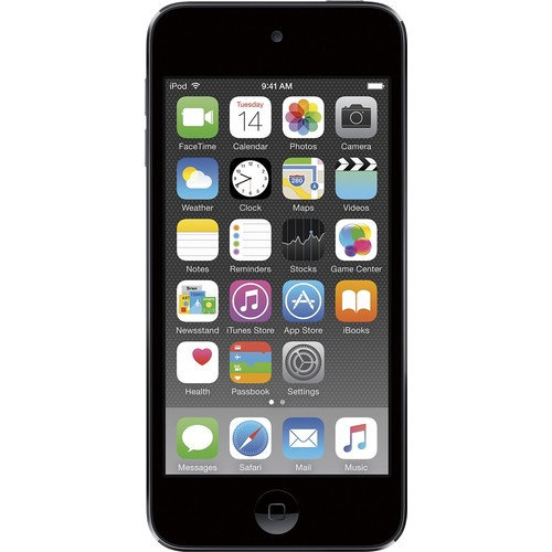 Apple iPod touch 6G 16 GB Space Gray Flash Portable Media Player