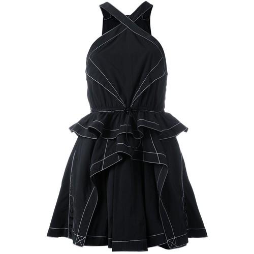 ALEXANDER WANG Ruffled Mini Dress
