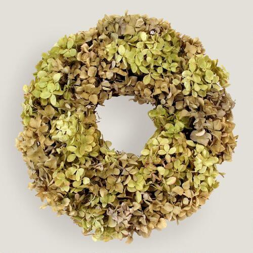 Live Hydrangea Wreath