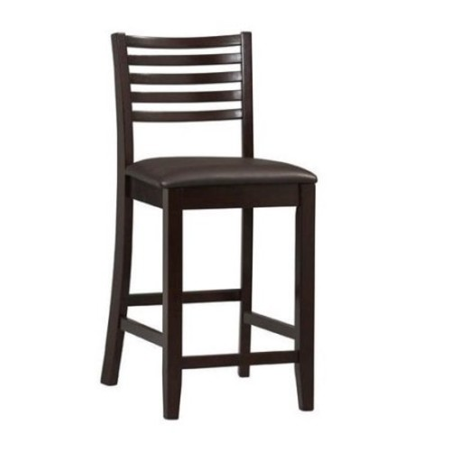 Linon Home Decor 01863ESP-01-KD-U Triena Ladder Counter Bar Stool
