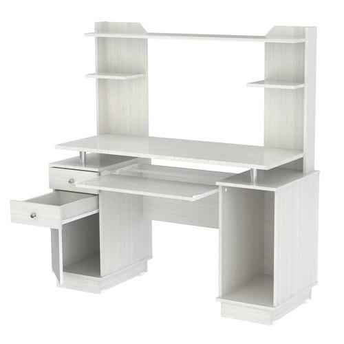 Inval Laricina White Computer Desk