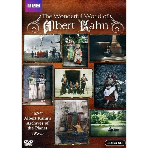 The Wonderful World of Albert Kahn: Archives of the Planet [3 Discs] [DVD]