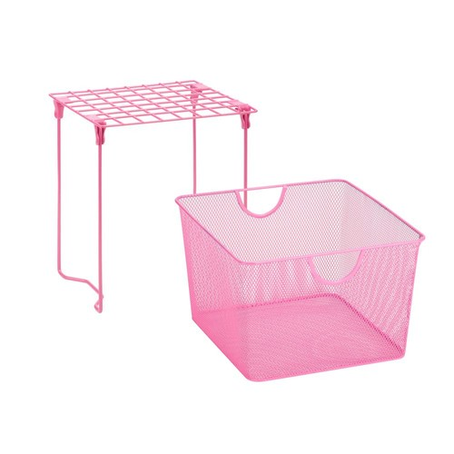 Honey-Can-Do Pink Back to School Kit 9