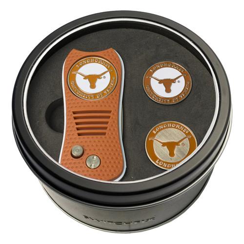 Team Golf Texas Longhorns Switchfix Divot Tool & Two Ball Markers