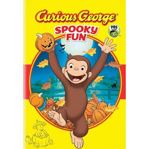 Curious George: Spooky Fun DVD