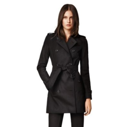 BURBERRY LONDON Kensington Mid-Length Heritage Trench Coat