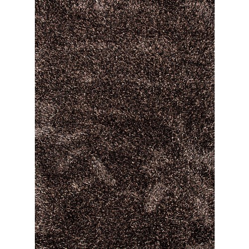 Nadia Collection Wool and Polyester Area Rug in Ebony & Light Beige by Jaipur - 2' x 3'