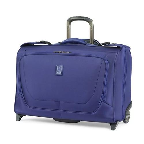 Travelpro Crew 11 - Indigo Nylon Fabric Carry-On Rolling Garment Bag w/ Duraguard Coating
