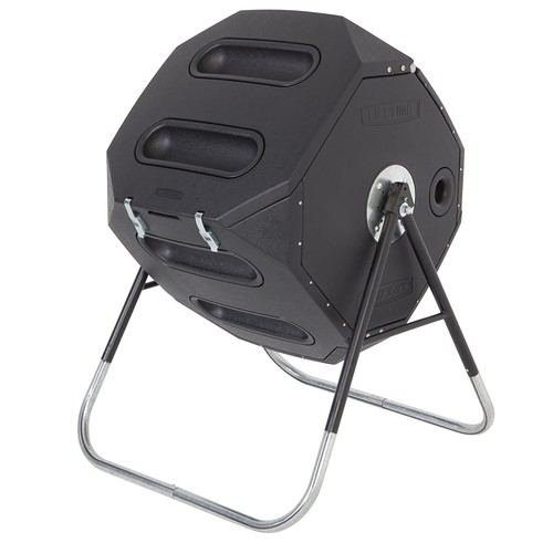 Lifetime 60028 65-Gallon Compost Tumbler [Black]