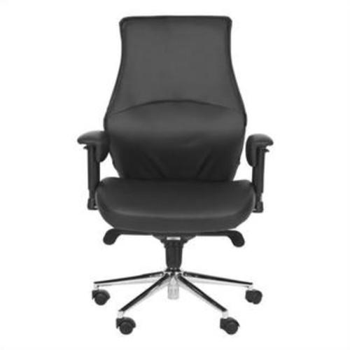 Safavieh Irving Desk Office Chair in Black