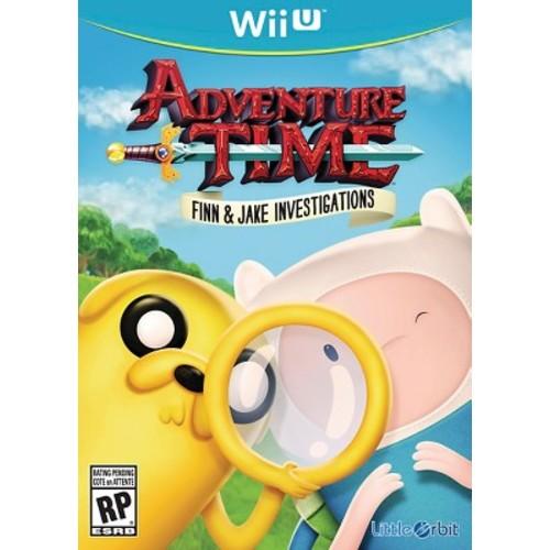 Adventure Time Finn and Jake Investigations Nintendo Wii U