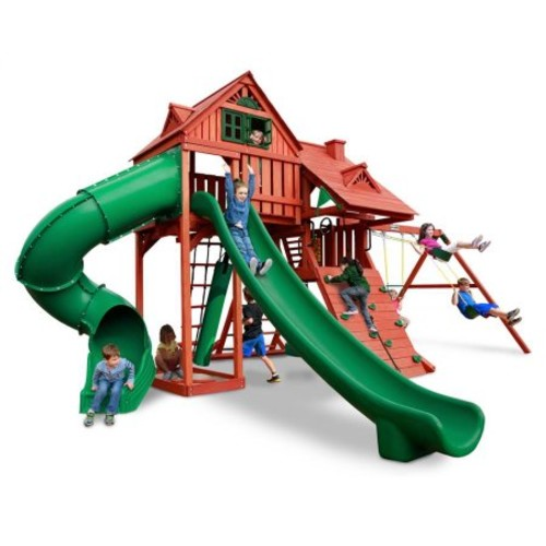 Gorilla Playsets Sun Palace Deluxe Swing Set