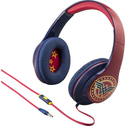 KIDDesigns Ri-M40WW.FXv7 Wonder Woman Co Brand Headphone with in-line microphone