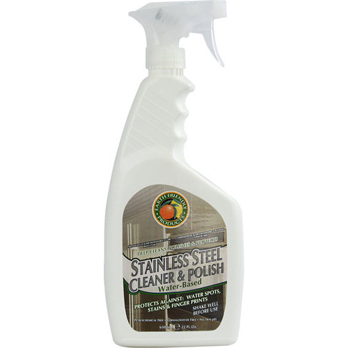 Earth Friendly Ecos Stainless Steel Cleaner + Polish -- 22 fl oz
