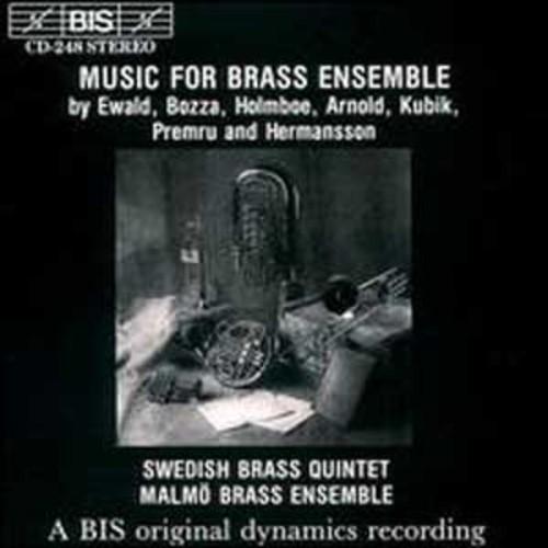 Music for Brass Ensemble (Audio CD)