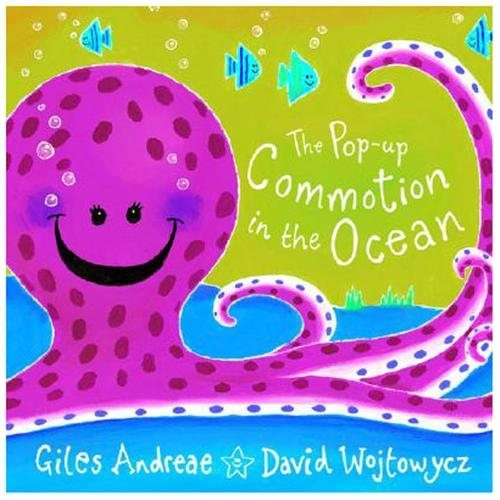 The Pop-Up Commotion in the Ocean (Hardcover)