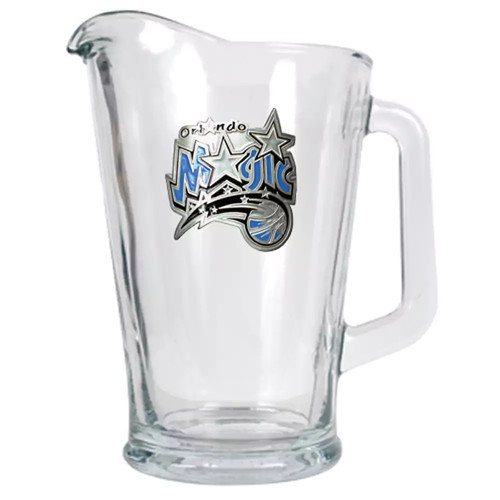 Orlando Magic Glass Pitcher