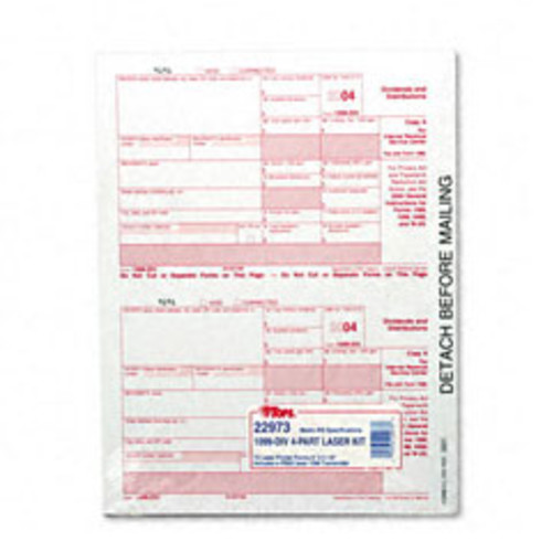 1099 Tax Forms for Laser Printers - 50 Sets per Pack