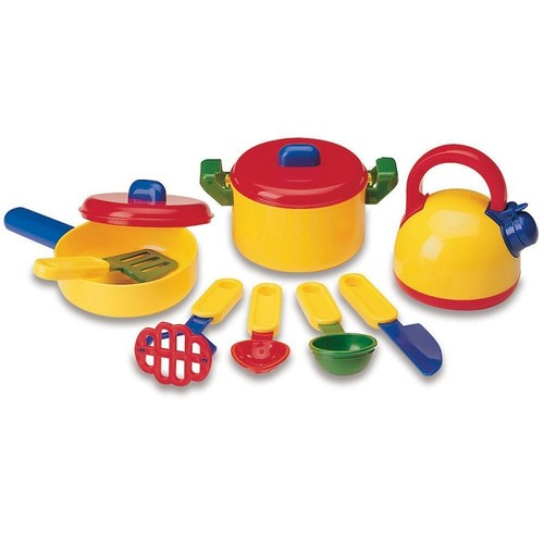 Imaginetics Learning Resources Pretend & Play Cooking Set !