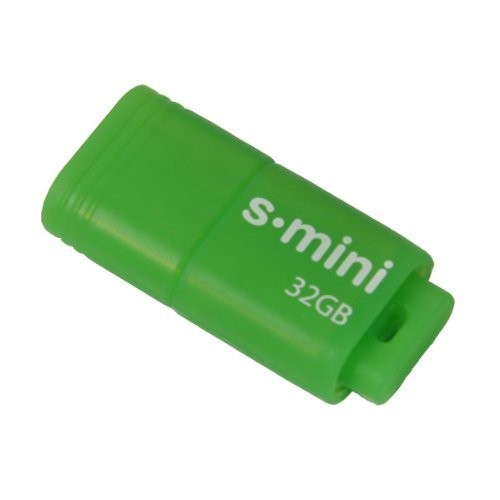 Patriot 32GB Supersonic Mini Series USB 3.0 Flash Drive (Green) With Up To 80MB/sec - PSF32GSMUSB