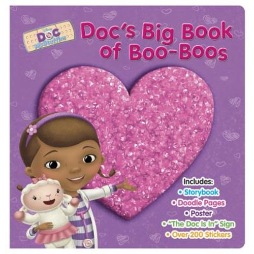 Disney Book Group; Sheila Sweeny Higginson; Disney Storybook Art Team Doc McStuffins: Doc's Big Book of Boo-Boos (Hardcover)