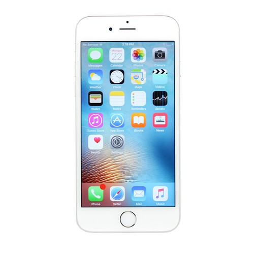 Apple iPhone 6S Plus, Fully Unlocked, 16GB - Silver (Certified Refurbished)