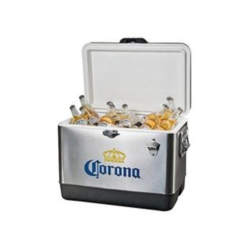 Corona Coric-54 Stainless Steel Ice Chest By Koolatron