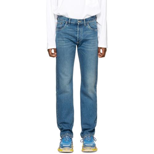 BALENCIAGA Indigo Five Pockets Jeans