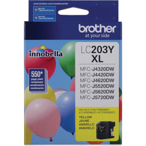 LC203Y Innobella High Yield XL Series Yellow Ink Cartridge