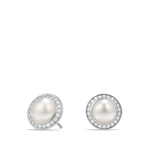 Albion Pearl Earring with Diamonds