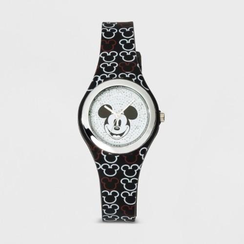 Kids' Disney Mickey Mouse Analog Watch Black