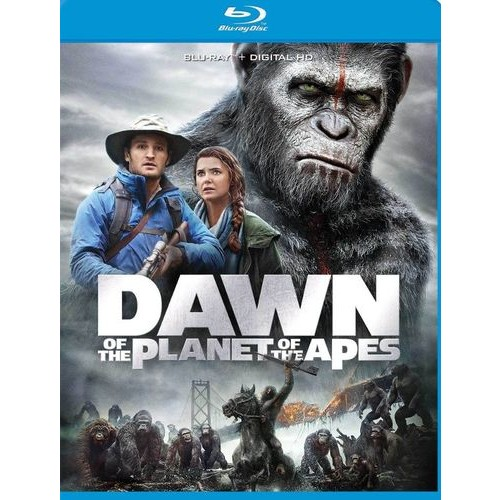 Dawn of the Planet of the Apes [Blu-ray] [2014]