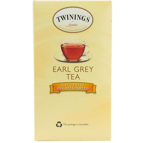 Twinings Earl Grey Tea Naturally Decaffeinated K-Cups -- 24 K-Cups