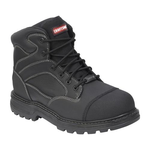 Men's Theo Black Waterproof Steel-Toe Work Boot - Wide Width