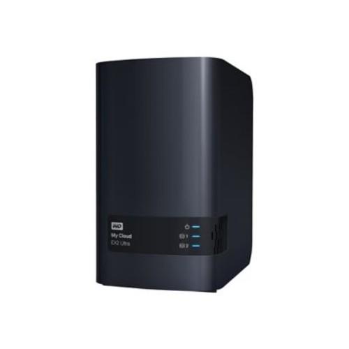 WD 12TB My Cloud EX2 Ultra Network Attached Storage, NAS (WDBVBZ0120JCH-NESN)