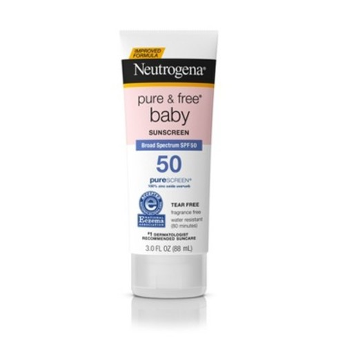 Neutrogena Pure & Free Baby Sunscreen Lotion - SPF 50 - 3oz