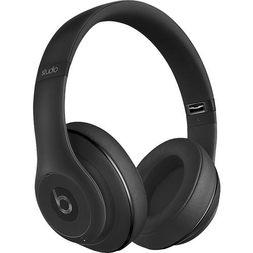 Beats by Dr. Dre - Geek Squad Certified Refurbished Beats Studio Wireless Over-the-Ear Headphones - Black