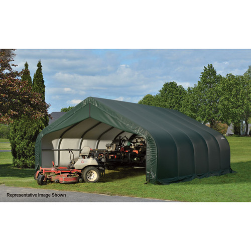 ShelterLogic Peak Style Garage/Storage Shelter  28ft.L x 18ft.W x 12ft.H