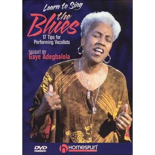 Gaye Adegbalola: Learn to Sing the Blues [DVD] [2005]