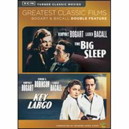 TCM Greatest Classic Films: Bogart & Bacall Double Feature - The Big Sleep/Key Largo [2 Discs]