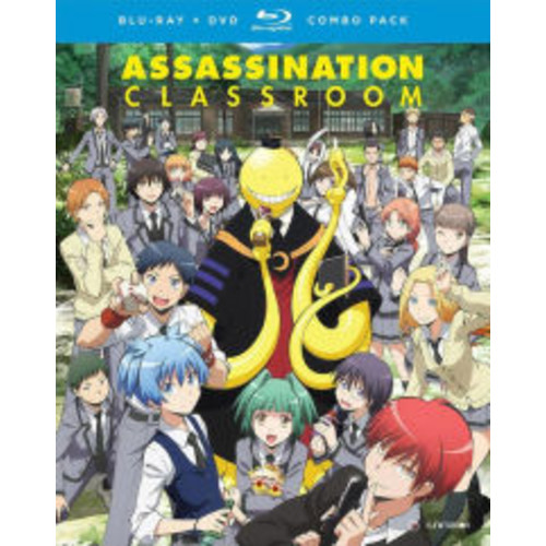 Assassination Classroom: Season One Part One (Blu-ray/DVD)